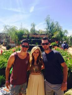 Brandon, Tae and; James, Stagecoach 2015