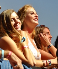 The look you get when Sam Hunt walks on stage